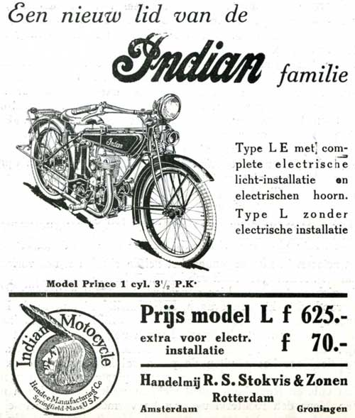 Indian 1925 stokvis