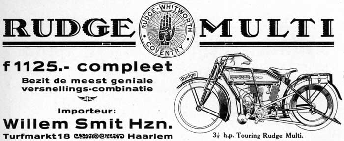 Rudge Multi willem smit