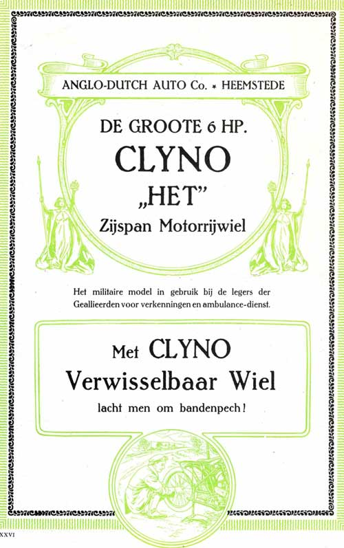 clyno 1915 anglo dutch 1