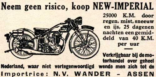 new imperial 1931 Wander