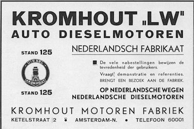 kromhout-advert