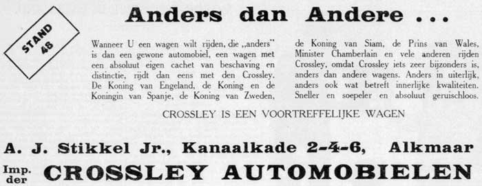 Crossley 19280125 stikkel