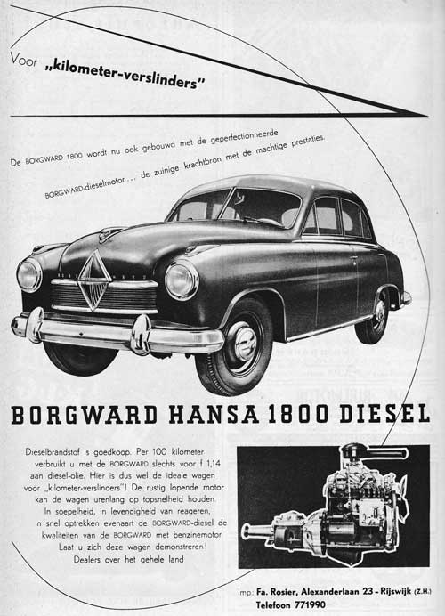 Borgward 19530613 rosier