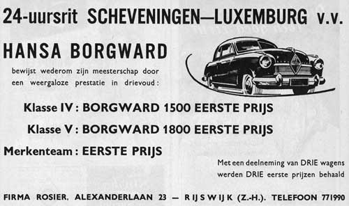 Borgward 19530627 rosier