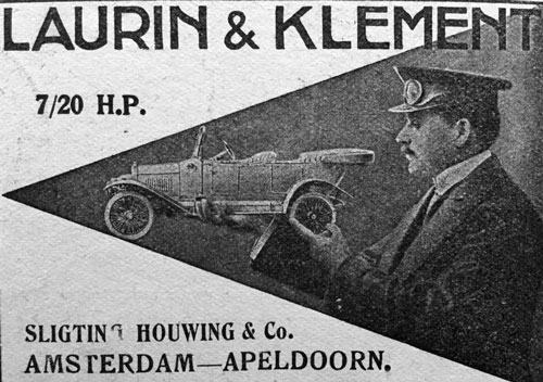 laurin klement 19150000 sligting houwing