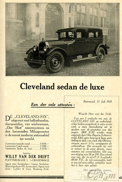 cleveland-1925-willy-van-der-drift
