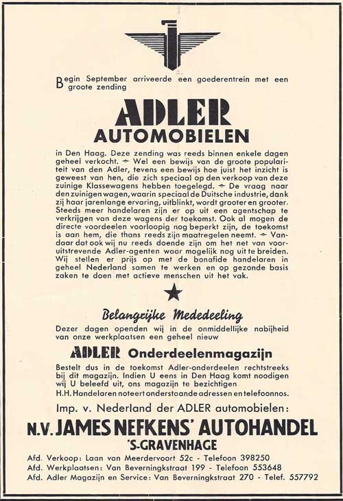 Adler-1939-James-Nefkens