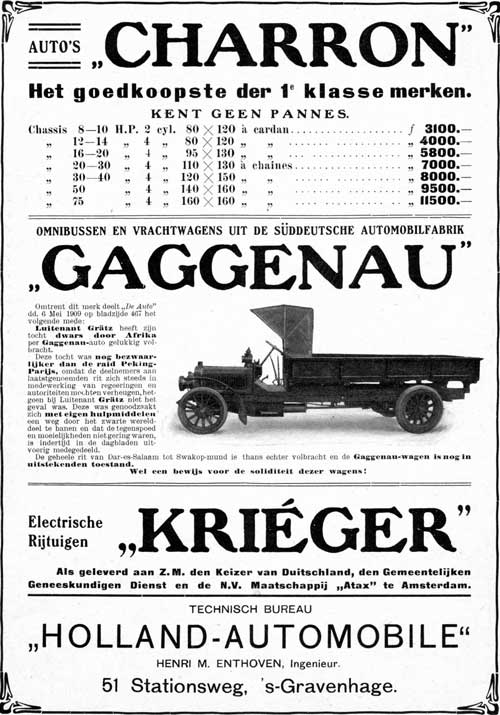 charron-gaggenau-krieger-1909-08-05-holland-automobile