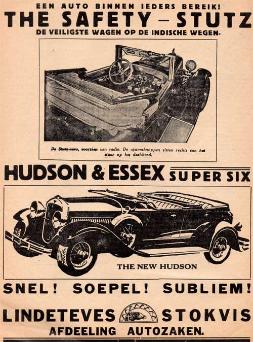 hudson essex stutz 19290420 lindeteves