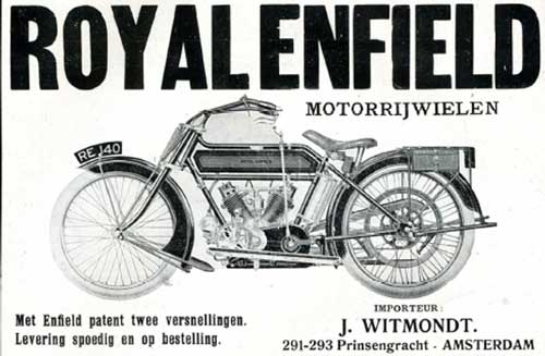 royal enfield 19190707 witmondt