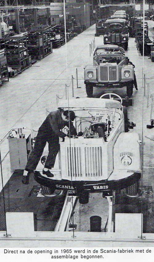 Scania assemblage 1965 1
