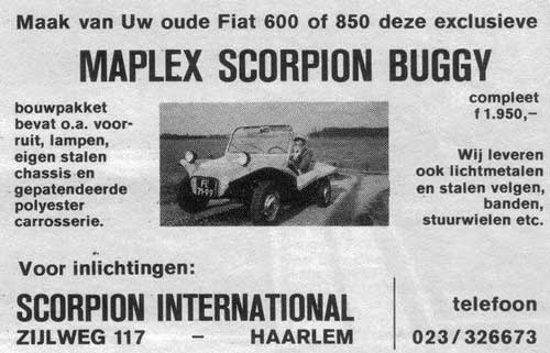 maplex scorpion buggy