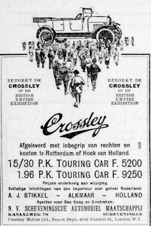 Crossley 19240625 stikkel