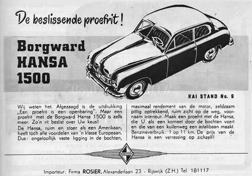 Borgward 19520301 rosier