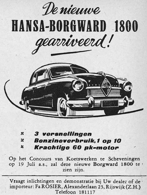 Borgward 19520705 rosier
