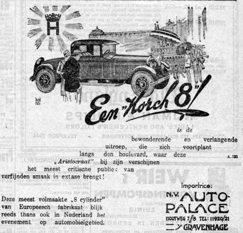 Horch 19280622 auto palace