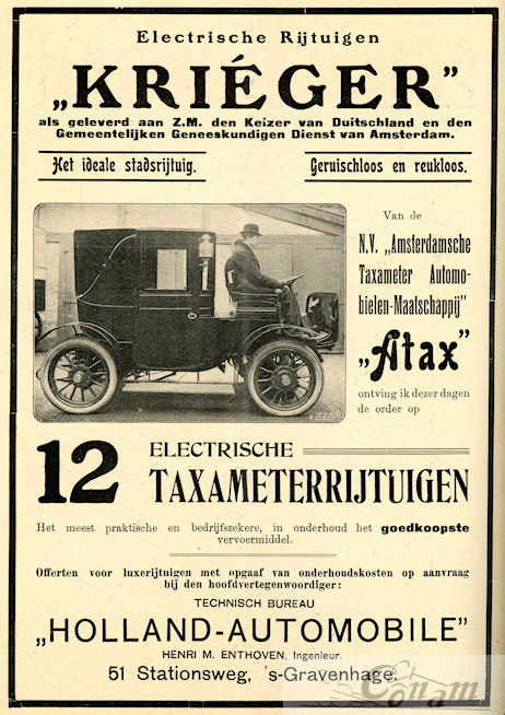 krieger-1909-holland-automobile