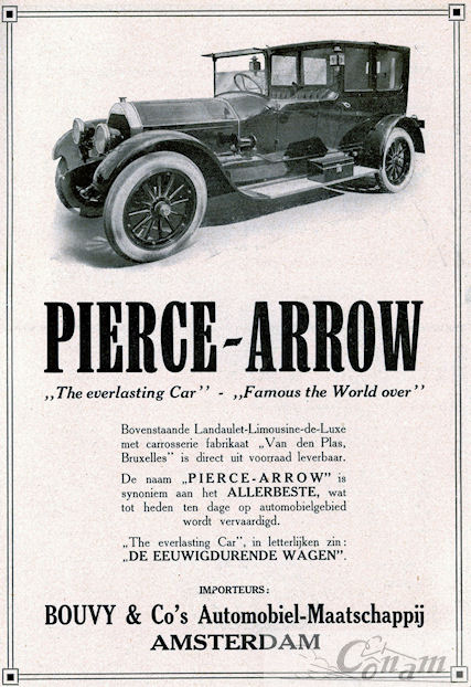 pierce arrow 1921 bouvy