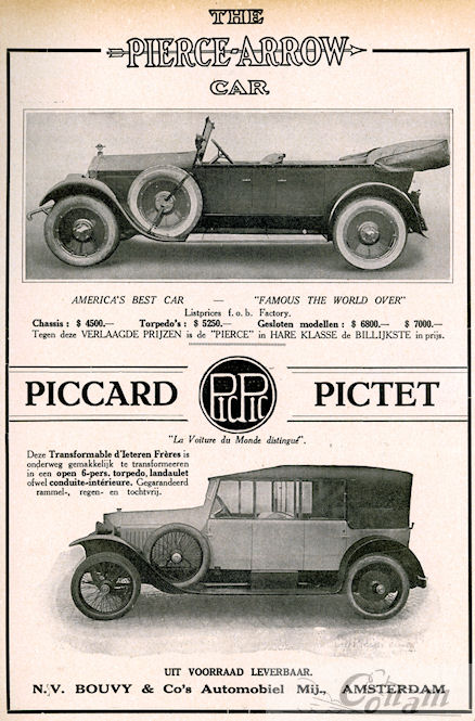 pierce arrow 1922 bouvy