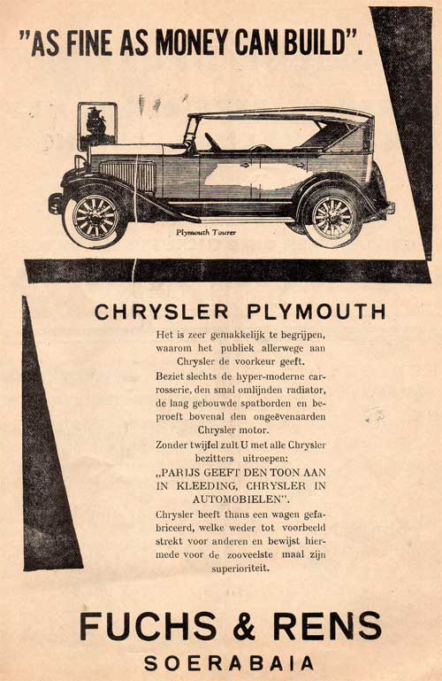 chrysler plymouth fuchs rens